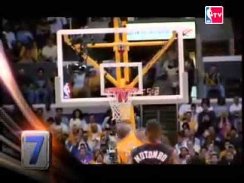 Top ten plays Nba Finals 2001 Lakers vs 76ers