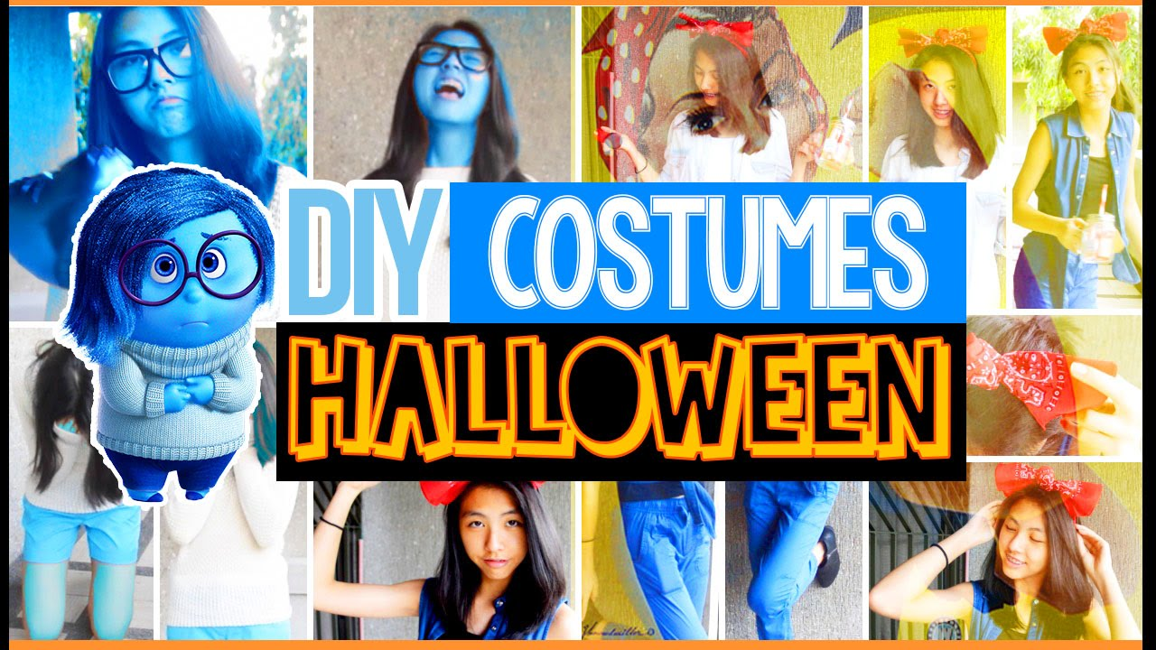 diy easy last minute halloween costumes for teenagers cute cheap