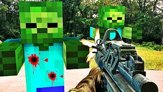 CALL OF ZOMBIES DANS MINECRAFT !