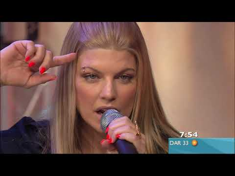 Fergie - Glamorous & Interview Live on Sunrise - 1080p - 2007