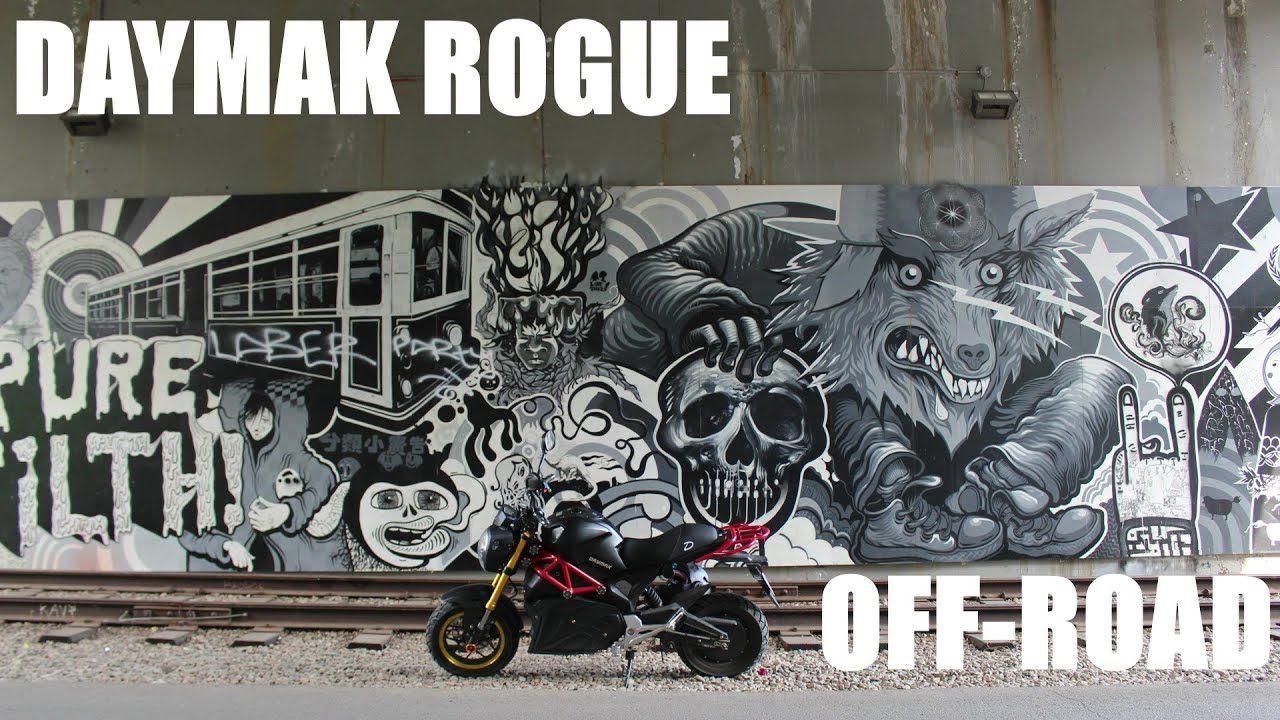 DAYMAK ROGUE OFF ROAD TEST