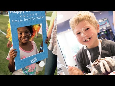 The Morning Rush - Mom throws 3000 birthday parties for homeless kids