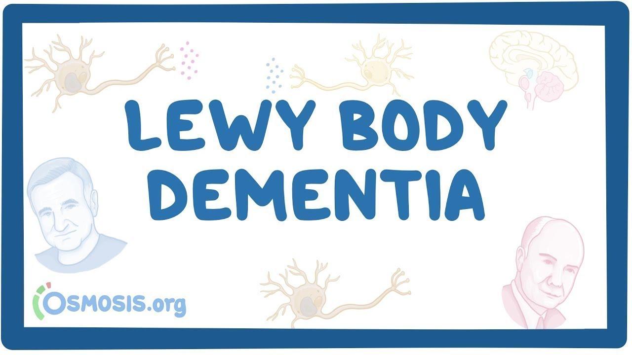 Lewy body dementia – causes, symptoms, diagnosis, treatment, pathology