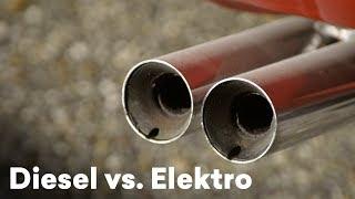 Diesel und Elektro | Die Autos im direkten Vergleich