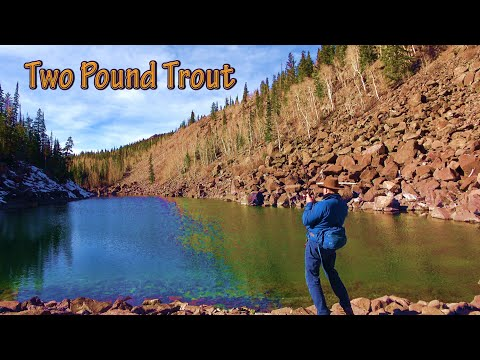 On Favorite Mountain Backpacking And Fishing Wilderness For Nice Fish/Hiking Camping At Alpine Lakes