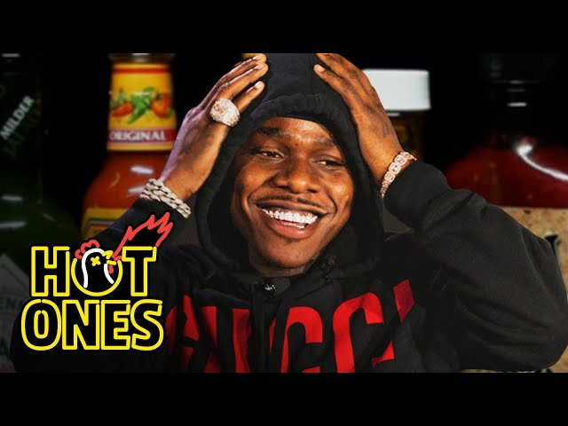 DaBaby Crushes Ice Cream While Eating Spicy Wings | Hot Ones