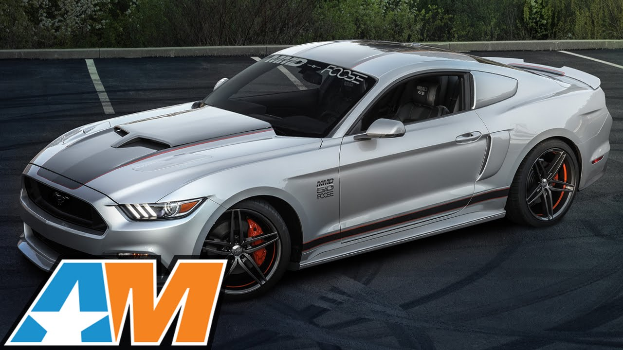 Chip Foose Customizes A 2015 Ford Mustang Gt
