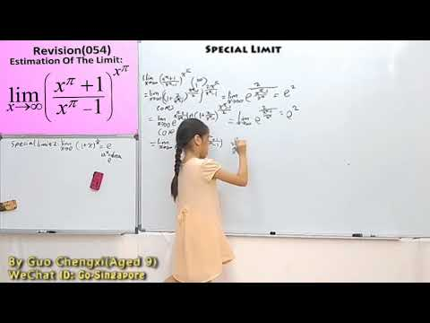 Methods OF LIMIT CALCULATING PRESENTED BY GUO CHENGXI (141)