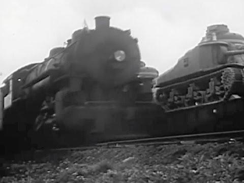 American Troop Train - 1943 - CharlieDeanArchives / Archival Footage
