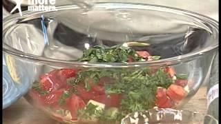Cucumber & Tomato Pasta