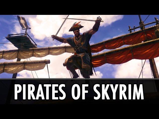 скачать мод на скайрим на пиратство - фото 8