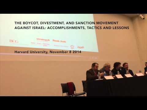 Harvard Arab Weekend - BDS Panel, November 8th 2014