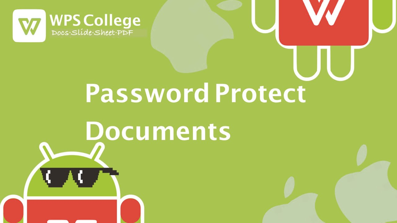 [Tutorial] How to Password Protect Documents in WPS Office (Kingsoft  Office) for iOS