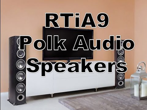 RTiA9 Polk Speaker Review & Unbox