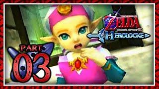 The Legend of Zelda: Ocarina of Time 3D Master Quest Herolocke - Part 3 - The Princess of Hyrule!