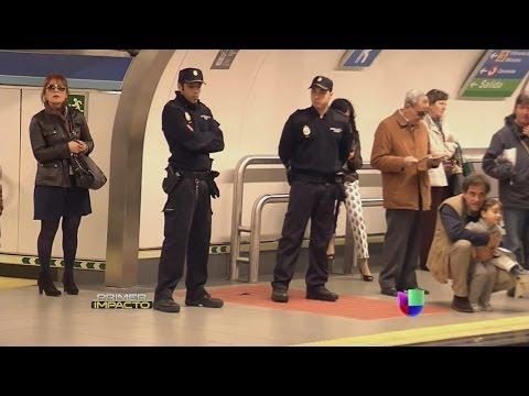 Carteristas al descubierto en el metro de Madrid - Primer Impacto