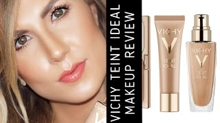 VICHY TEINT IDEAL MAKEUP REVIEW | NATURAL MAKEUP | FIRST IMPRESSIONS