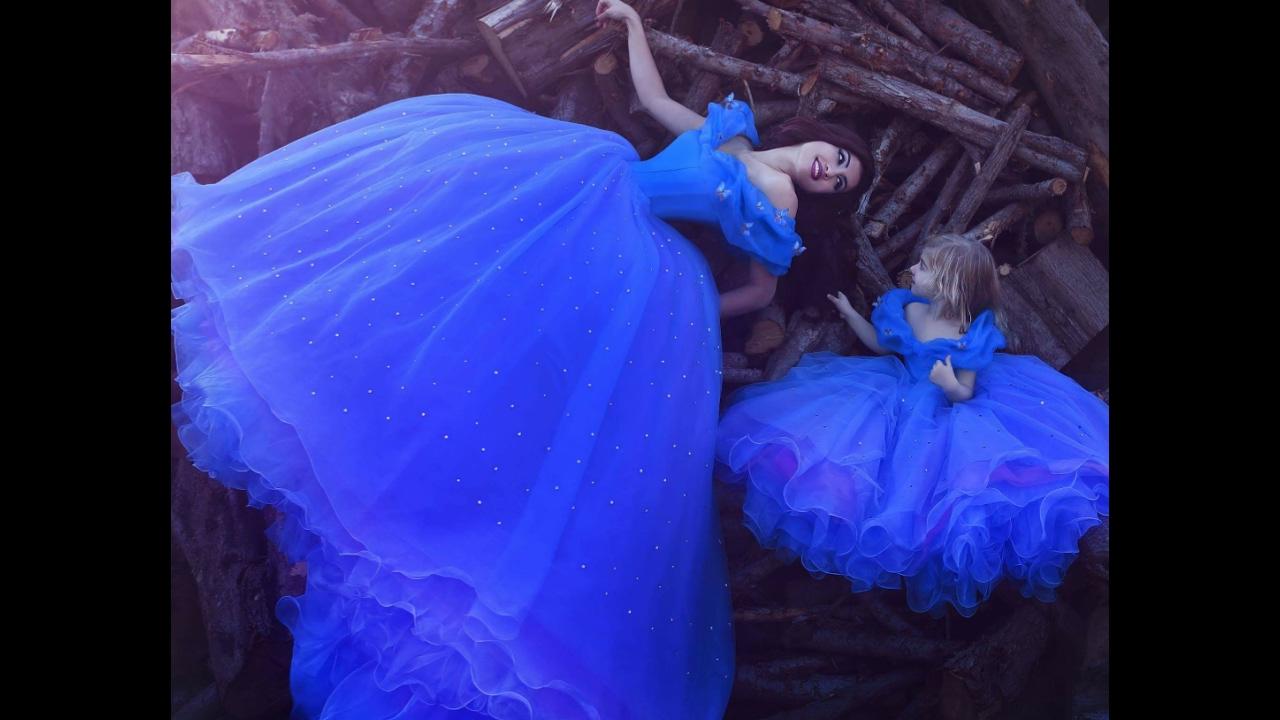 real life cinderella dress youtube