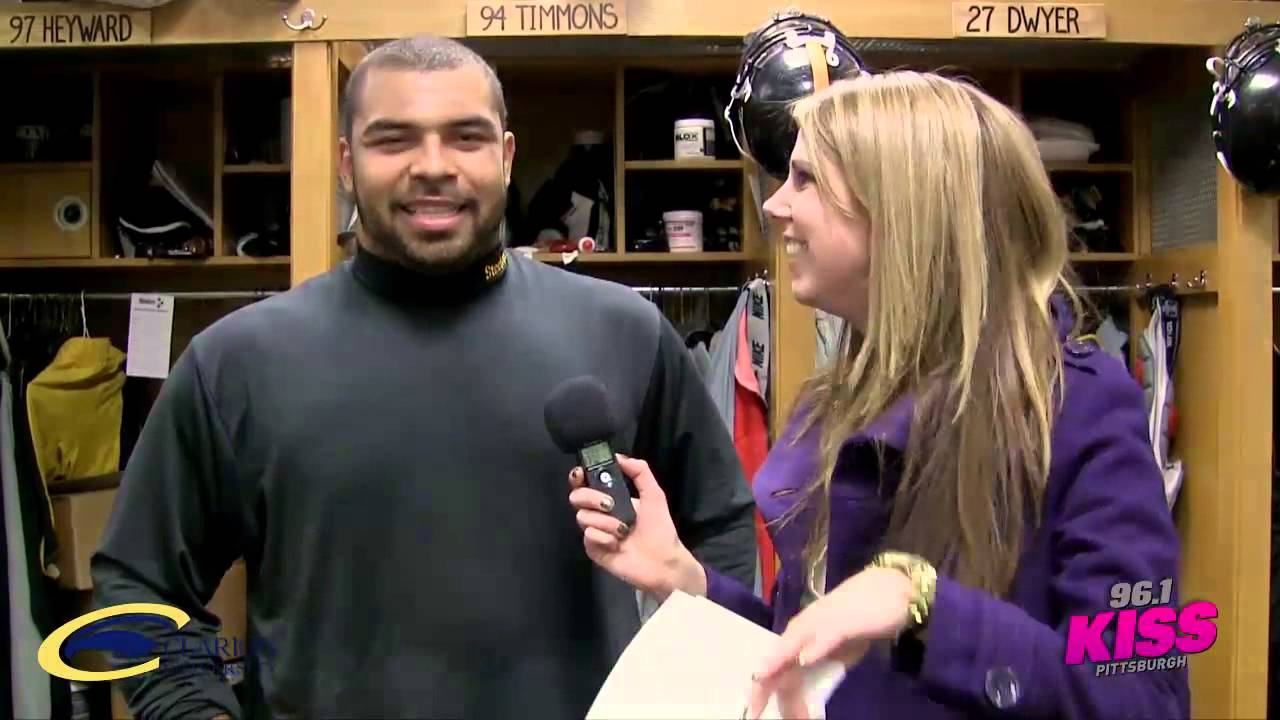 Ask the Steelers with Tall Cathy Cameron Heyward