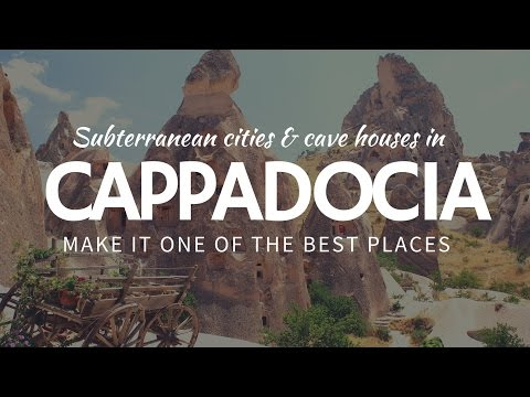 Surreal landscape of Cappadocia & best places to TRAVEL in Turkey