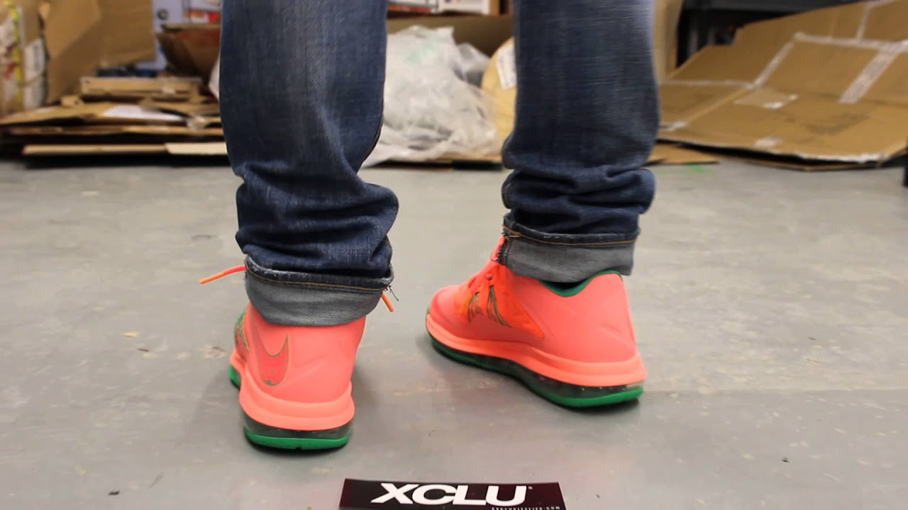 Hight Quality Nike Air Max Lebron X Low Watermelon
