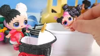 LOL OMG Makeover DIY Custom Limited Stroller Carts OMG Boy