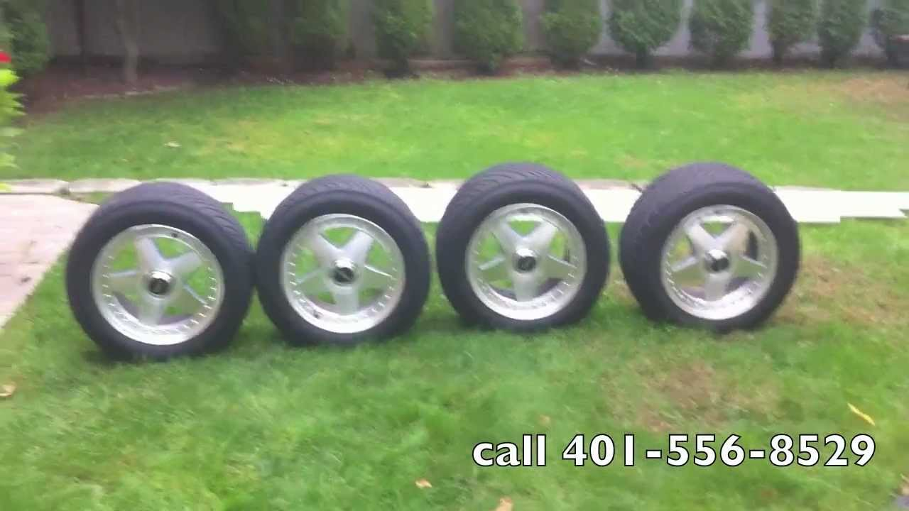 Chevy Wheels For Sale 1985 Chevrolet corvette wheels and Tires for sale - YouTube