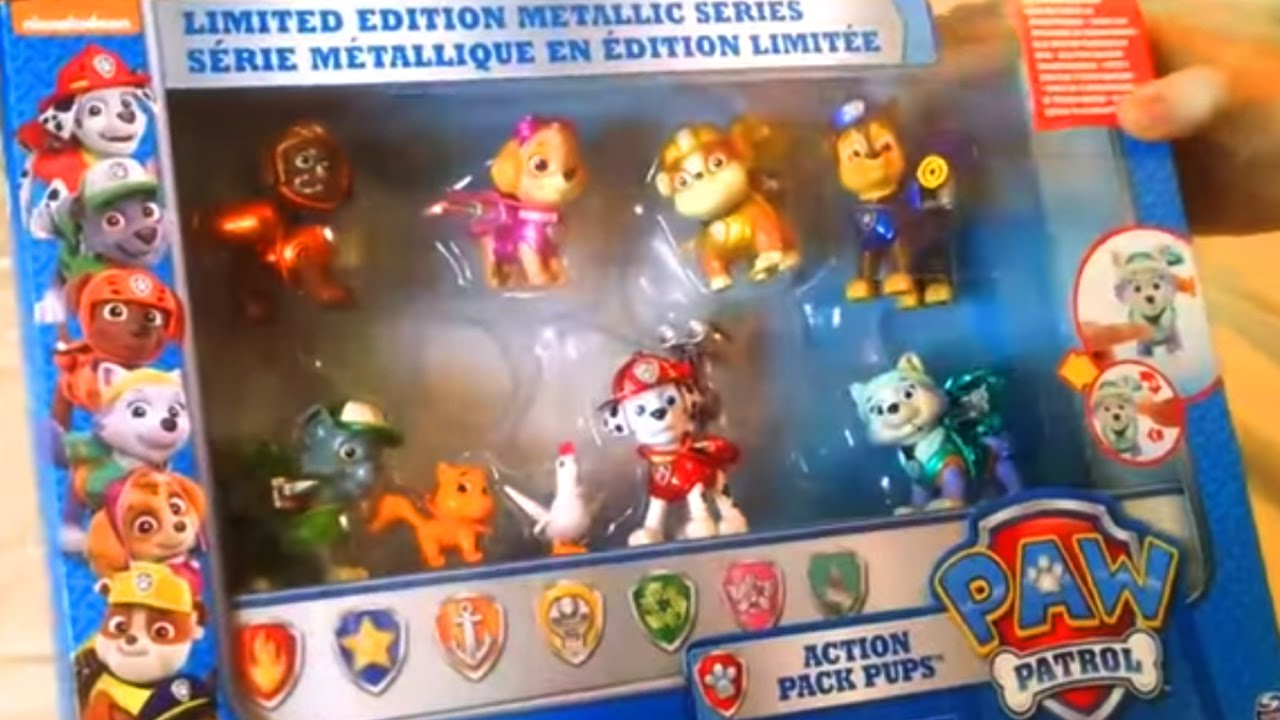 Toys From Target : Opening paw patrol metallic playset from target youtube