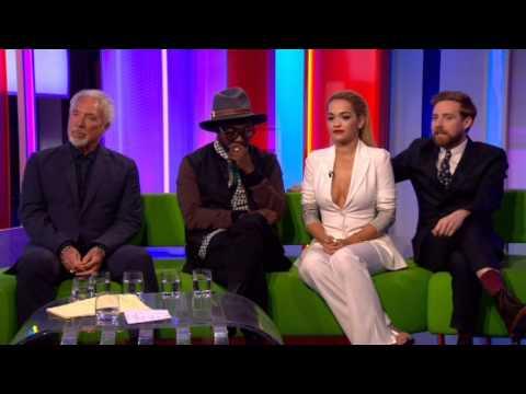 The Voice Scheiffer Bates BBC The One Show 2015