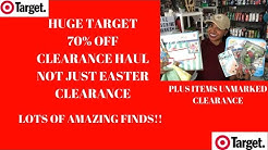 Target 70% OFF Clearance Haul~Amazing Finds at a Fraction of the Cost~Not Just Easter Clearance 😮