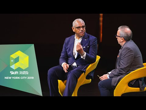 Carnival Corporation President & CEO at Skift Global Forum 2019
