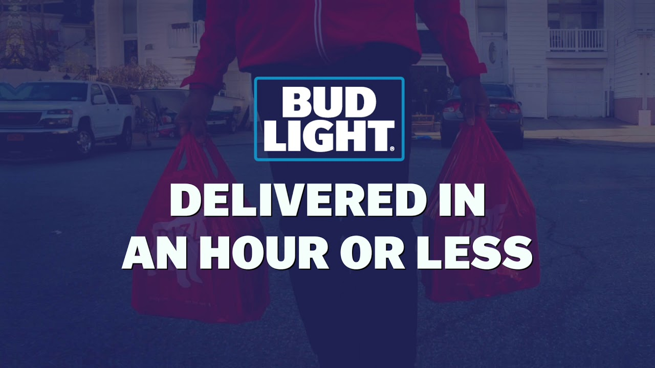 Bud Light - Tiki Barber Delivery