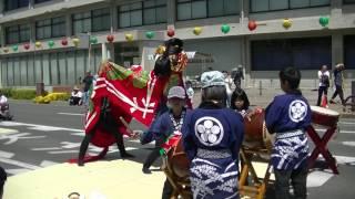 第68回丸亀お城まつり【獅子舞競演】田村上中獅子保存会