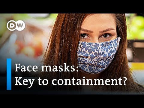 Coronavirus: Nations debate over usage of face masks | DW News