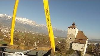 Helikopter Service Triet AG: Unterlasttransport Schloss Werdenberg