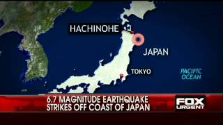 NEW VIDEO: 6.7 Magnitude Earthquake Strikes Off Coast of Japan
