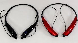 LG HBS-730 and LG HBS-750 vs Motorola S10-HD BLUETOOTH HEADSET