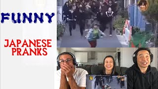 Funny JAPANESE PRANK Get Prank By 100 People - Reaction