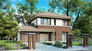 Проекты загородных двухэтажных домов(Проекты двухэтажных загородных домов подойдут для большой семьи. Следует решить: если Вам нужен действител..., 2014-11-04T09:25:39.000Z)