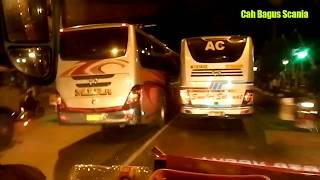 Realita_adu balap 3 bus Jatim,Sugeng Rahayu Sr2-Smbr slmet-Mira