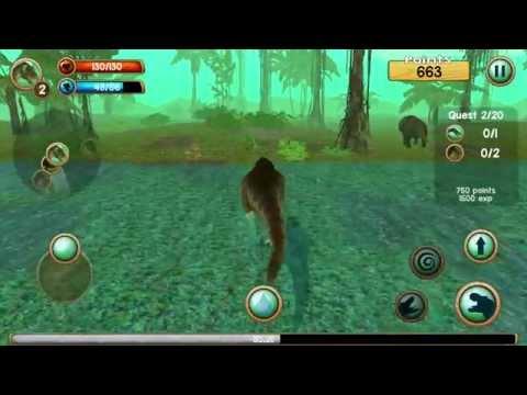 Tyrannosaurus Rex Sim 3D - Gameplay Android