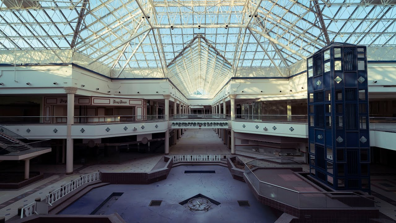 exploring a huge abandoned mall 1 million sq ft youtube