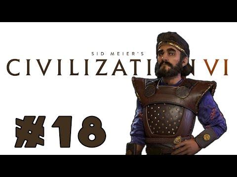 Let's Play: Civilization VI - Surprising Persia! - Deity - Part 18