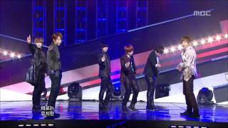 Super Junior - A-CHA, 슈퍼주니어 - 아차, Music Core 20111001 thumbnail