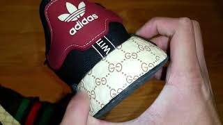 Gucci Adidas NMD Black Edition Unboxing And Review