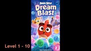 Angry Birds Dream Blast Level 1 - 10