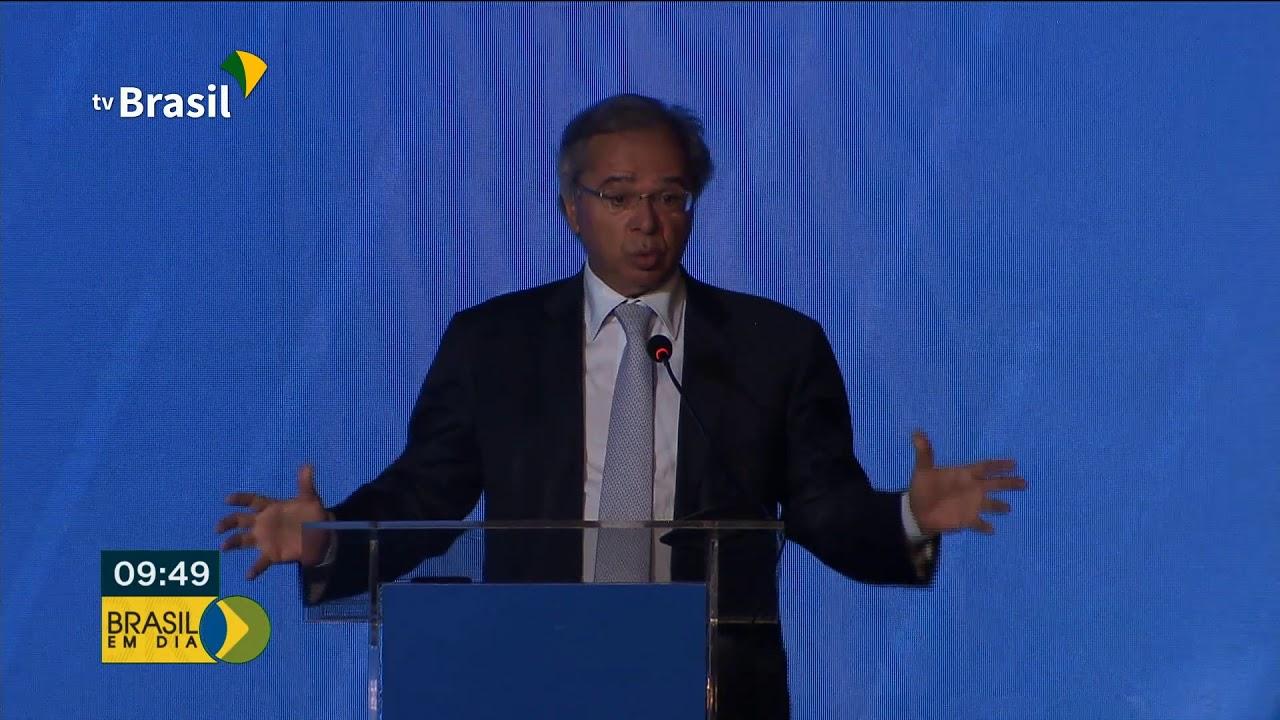 Paulo Guedes fala sobre reformas em tramitação no Congresso