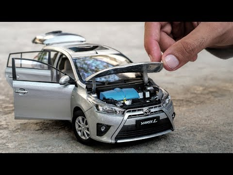 Unboxing of Toyota Yaris/Vitz/Vios L 1:18 Scale Diecast Model Car