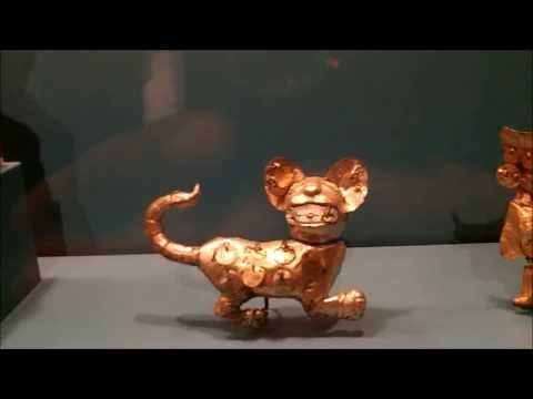 Pre-Columbian Gold - At The Museum Of Fine Arts - Houston,Texas - 12/20/2013.