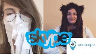 Alina Rin & Jove: общение по скайпу